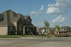 De buurt van Texas Stock Afbeeldingen