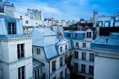 De buurthorizon van Parijs Stock Afbeeldingen