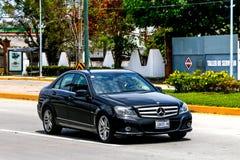 De c-Klasse van Mercedes-Benz W204 royalty-vrije stock foto