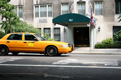 De cabine/de taxi van New York (NYC) Royalty-vrije Stock Foto's