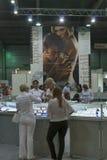 De cabine van de de Juwelenfabriek van Vinnytsiakristall Royalty-vrije Stock Fotografie