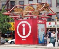 De cabine van de Informatie van de toerist Royalty-vrije Stock Foto