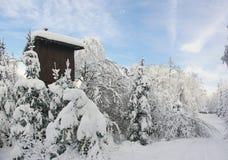 De cabine van de jager stock foto