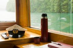 De cabine van de kapitein Stock Afbeelding