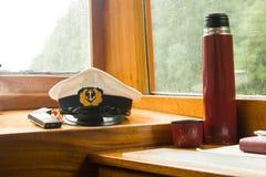 De cabine van de kapitein Royalty-vrije Stock Foto