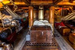 De cabine van de piraatbemanning stock foto's