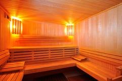 De Cabine van de sauna Stock Fotografie