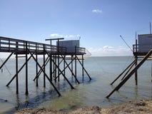 De cabine van de visser Stock Afbeelding