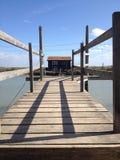 De cabine van de visser Royalty-vrije Stock Foto's