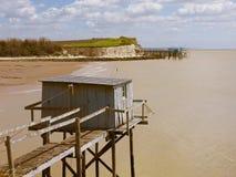 De cabine van de visser Stock Afbeeldingen