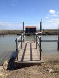 De cabine van de visser Royalty-vrije Stock Fotografie