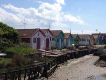 De cabine van de visser Stock Fotografie