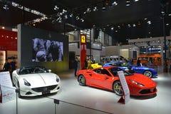 De Cabine van Ferrari supercars Royalty-vrije Stock Afbeeldingen