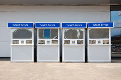 De cabine van het kaartje Stock Fotografie
