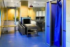 De cabine van het onderzoek stock foto's