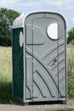 De cabine van het toilet Stock Foto