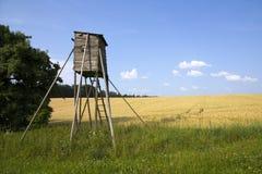 De cabine van jagers in daling Stock Fotografie