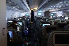 De cabine van Luchtbus stock fotografie