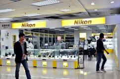 De cabine van Nikon stock foto's