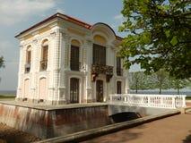 De cabine van Peter groot in Peterhof Heilige-Petersburg Rusland Stock Afbeelding