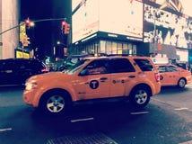 De Cabine van de Taxi van de Stad van New York stock afbeelding