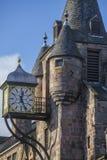 De Cabineklok van de Canongatetol, Koninklijke Mijl, Edinburgh, Schotland Stock Afbeeldingen