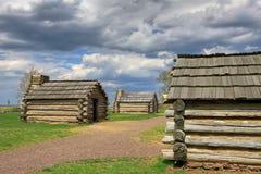 De cabines bij Vallei smeden stock foto
