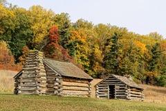 De cabines bij Vallei smeden Stock Fotografie