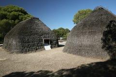 De cabines van de stam Royalty-vrije Stock Afbeelding