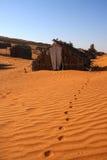 De cabines van de woestijn royalty-vrije stock foto
