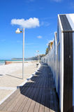 De cabines van het strand Royalty-vrije Stock Foto's