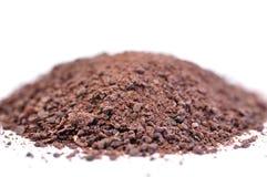 De cacao van de grond Stock Afbeelding