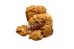 De cachou van de koekjeschocolade Stock Foto