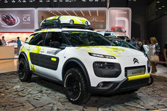 De Cactus Aventure van Citroën C4 Stock Afbeeldingen