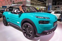 De Cactus M Concept Car van Citroën bij IAA 2015 Royalty-vrije Stock Fotografie