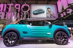 De Cactus M Concept Car van Citroën bij IAA 2015 Stock Foto