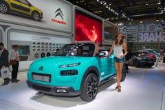 De Cactus M Concept van Citroën C4 Royalty-vrije Stock Fotografie
