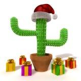 De cactus van Cchristmas stock illustratie