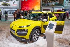 De Cactus van Citroën C4 bij IAA 2015 Royalty-vrije Stock Foto's