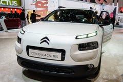 De Cactus van Citroën C4, Motorshow Geneve 201 Royalty-vrije Stock Fotografie