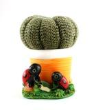 De cactus van Knited Royalty-vrije Stock Afbeeldingen