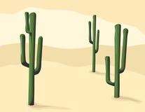 De Cactus van Saguaro stock illustratie