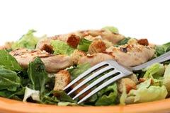 De caesar salade van de kip Stock Foto