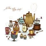 De café toujours la vie Image stock
