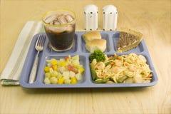 De cafetariastijl van garnalen lo mein Royalty-vrije Stock Afbeelding
