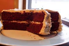 De cake - en eet ook het Royalty-vrije Stock Foto