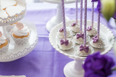 De cake knalt Stock Foto