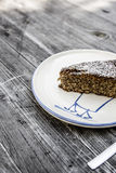 De cake van amandellimoncello Royalty-vrije Stock Foto's