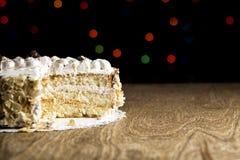 De cake van de bosbessenkaramel Royalty-vrije Stock Foto