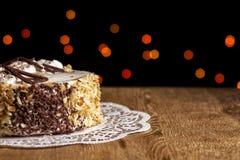 De cake van de bosbessenkaramel Royalty-vrije Stock Fotografie
